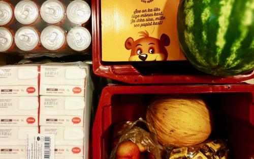 Iga päev ootavad näljaseid tervislikud ja mitte nii tervislikud näksid. (FOTO: erakogu)
