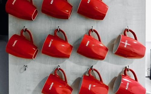 Kohvitamist võetakse IT-sektoris väga tõsiselt. (FOTO: erakogu)