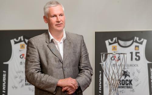 Spordiklubi esimees, kantsler Andres Liinat (FOTO: Andres Tennus)